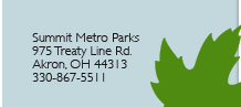 Metro Parks Contact Info -  975 Treaty Line Road Akron, OH 44313 330-867-5511