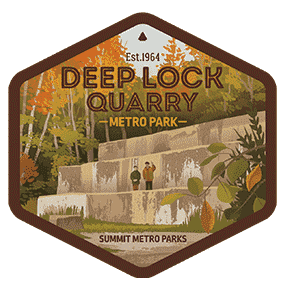 Deep Lock Quarry Metro Park Sticker OR Magnet