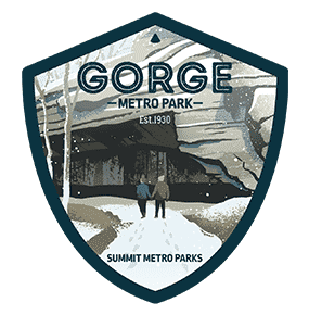 Gorge Metro Park Sticker OR Magnet
