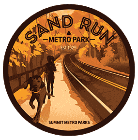 Sand Run Metro Park Sticker OR Magnet