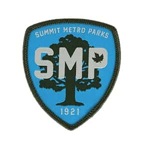 SMP Blue Cloth Patch