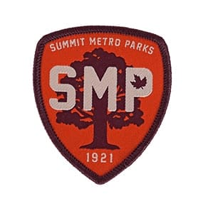 SMP Orange Cloth Patch