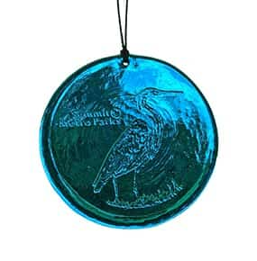 Heron Blue Suncatcher