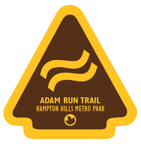 Adam Run Trail Sticker