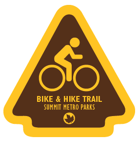 Bike & Hike Trail Sticker