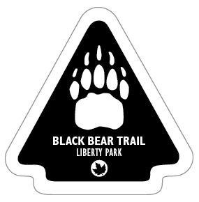 Black Bear Trail Sticker