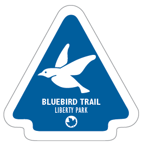 Bluebird Trail Sticker