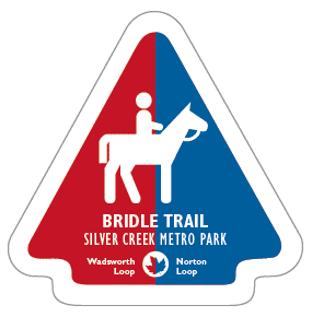 Bridle Trail Sticker