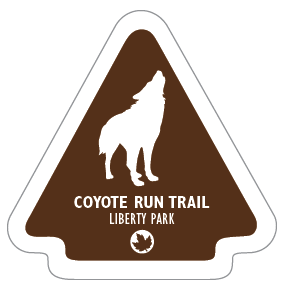 Coyote Run Trail Sticker