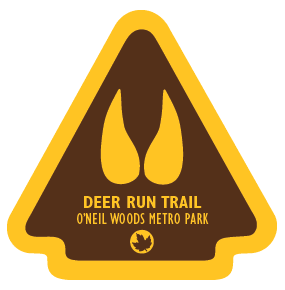 Deer Run Trail Sticker