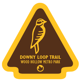 Downy Loop Trail Sticker