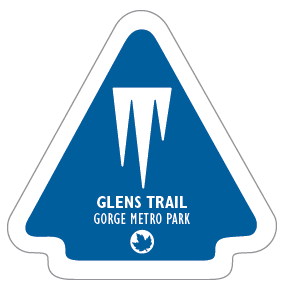 Glens Trail Sticker