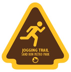 Jogging Trail Sticker