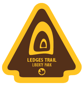 Ledges Trail Sticker