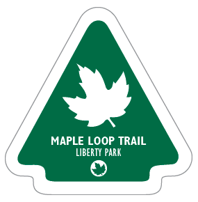 Maple Loop Trail Sticker