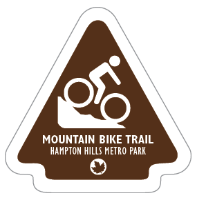Mountain Bike Trail Sticker