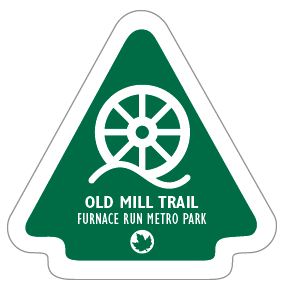 Old Mill Trail Sticker