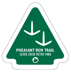 Pheasant Run Trail Sticker