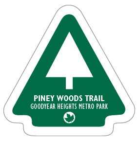 Piney Woods Trail Sticker