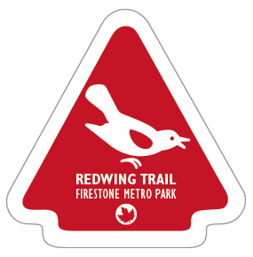 Redwing Trail Sticker