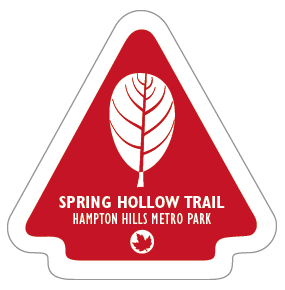 Spring Hollow Trail Sticker