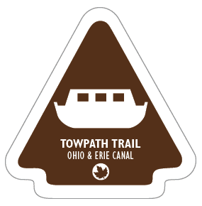 Towpath Trail Sticker