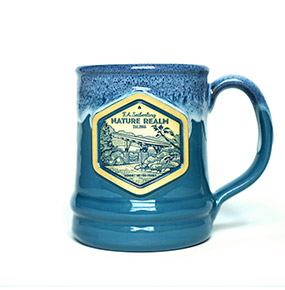 Deneen Pottery SMP Mug - Peacock Color
