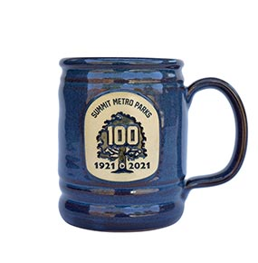 Deneen Pottery SMP Mug - Blue Color