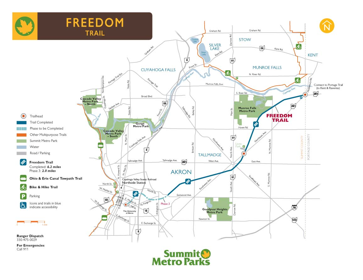 Freedom Trail Biking CrossCountry Skiing Paths