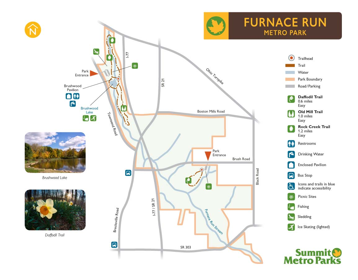 Furnace Run Map