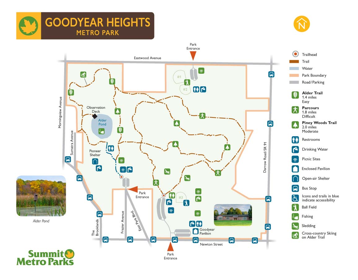 Goodyear Heights Map
