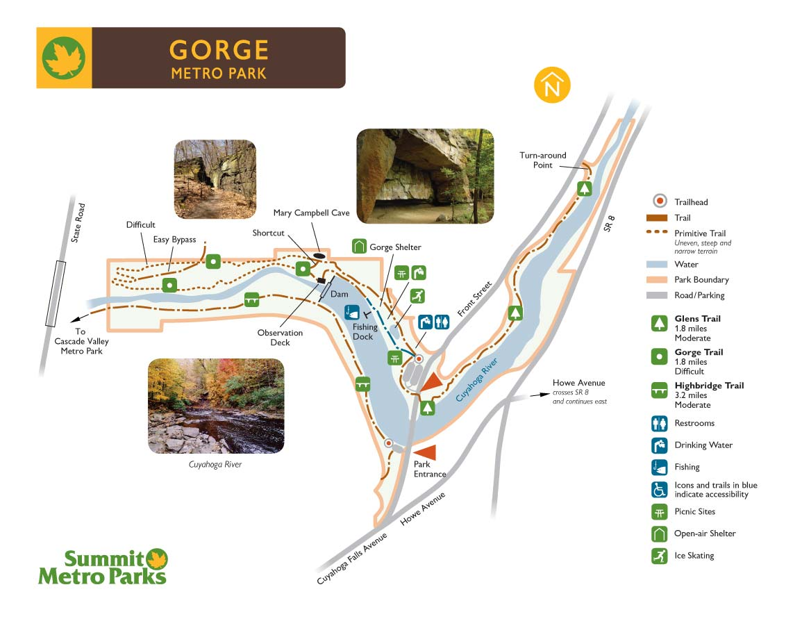 Gorge Map