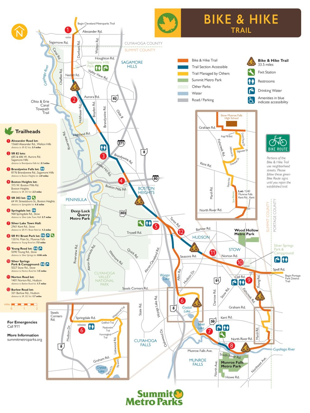 Biking & Hiking Trails in Summit County | Summit Metro Parks