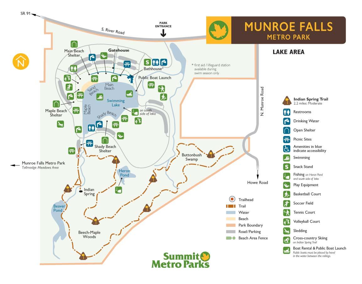 Munroe Falls Metro Park Summit County Metro Parks